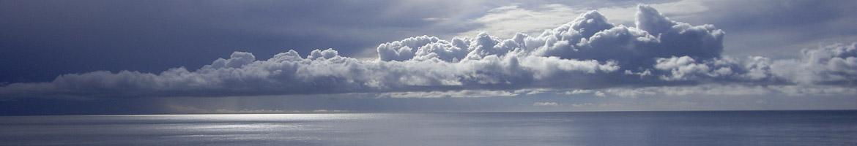 Calm sea scene