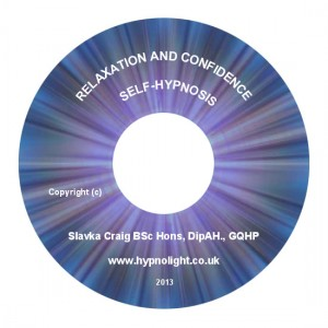 Relaxation and Confidence Hypnotherapy CD